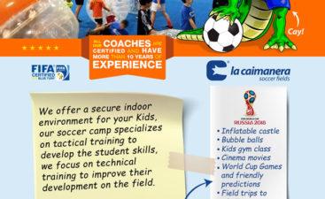 Alquiler y Campamento de verano - La Caimanera Soccer Fields 5d39aa69472